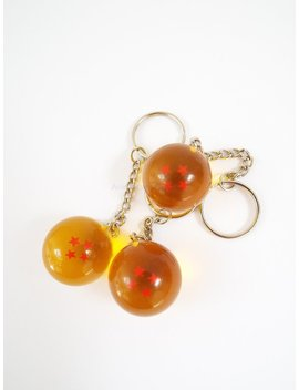 Dragon Ball 4 Star Anime Keychain Charm Great Gift Idea Dragonball by Anime Land Gifts