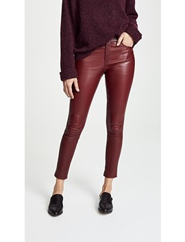 5 Pocket Leather Pants by Theory