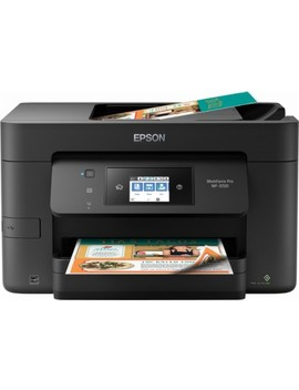Work Force Pro Wf 3720 Wireless All In One Printer   Black by Epson