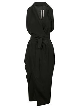 Rick Owens Limo Draped Dress by Rick Owens