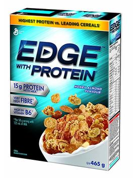 Edge Protein Honey Almond Cereal, 465 Gram by Amazon