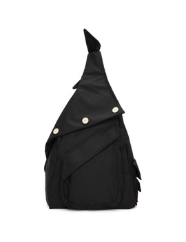 Black Eastpak Edition Organized Sling Backpack by Raf Simons