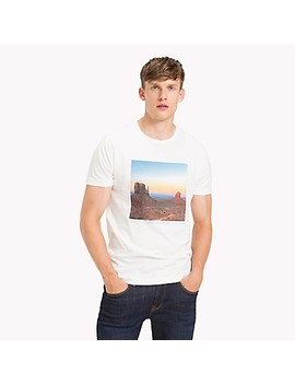 Photo Print T Shirt by Tommy Hilfiger