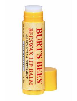 Burt's Bees 100 Percents Natural Lip Balm, 4.25 G   Beeswax by Amazon