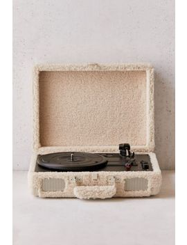 Crosley Uo Exclusive Shearling Cruiser Bluetooth Record Player by Crosley