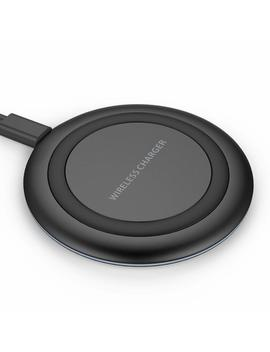 Wireless Charger, Yootech Qi Certified Wireless Charge Charging Pad For I Phone X, I Phone 8/8 Plus,Galaxy S9/S9 Plus/S8/S8 Plus/S7/S7 Edge/Note 8/Note 5[No Ac Adapter][Ultra Slim][Sleep Friendly] by Amazon