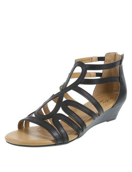 Women's Taylor Low Wedge Sandal by Learn About The Branddexflex Comfort