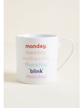Ways Of The Week Ceramic Mug by Modcloth