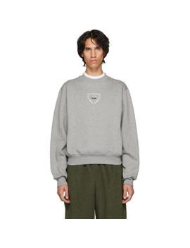 Grey Logo Berg Sweatshirt by Gmbh