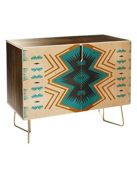 Holli Zollinger Colorado Painted Credenza by Deny Designs