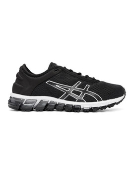 Black & White Gel Quantum 180 3 Sneakers by Asics