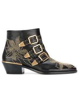 Chloésusanna Ankle Bootshome Women Chloéshoes Boots by Chloé