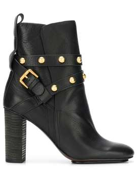 See By Chloéjanis Heeled Ankle Bootshome Women See By Chloéshoes Boots by See By Chloé