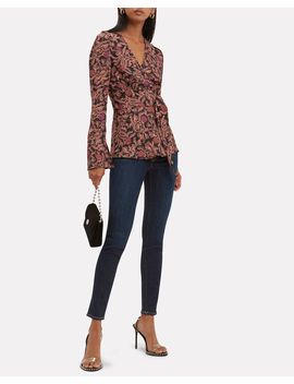 Floral Wrap Top by Proenza Schouler