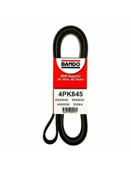 Bando 4 Pk845 Oem Quality Serpentine Belt by Bando Usa