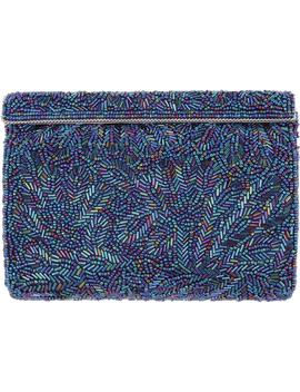 'meadow' Beaded Frame Clutch by Nina