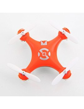 Leoie Cheerson Cx 10 Mini 29mm Diameter 4 Ch 2.4 G Hz 6 Axis Gyro Rc Quadcopter Ufo Rtf (Orange) by Leoie