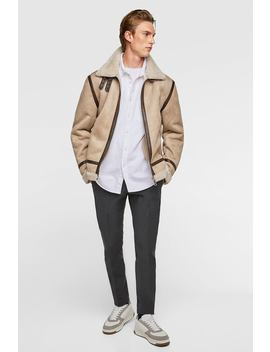 Aviator Jacket  Jacketsman by Zara