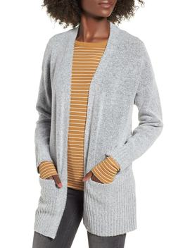 Rib Edged Open Cardigan by Dreamers By Debut