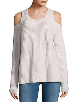 Turing Cutout Ombre Sweater by Zoë Jordan