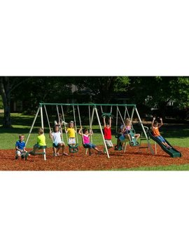 Flexible Flyer Big Adventure Metal Swing Set by Flexible Flyer
