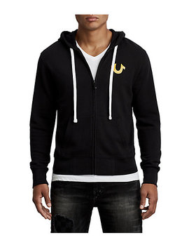 Checkered Active Zip Up Hoodie by True Religion