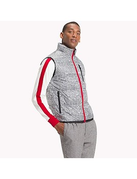 Glen Plaid Puffer Vest by Tommy Hilfiger