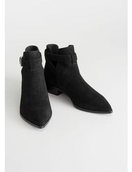 Cutout Buckle Chelsea Boots by & Other Stories