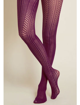 Wear With Flair Tights by Modcloth