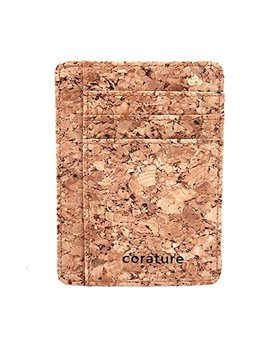 Cork Minimalist Wallet With Rfid Protection by Corature