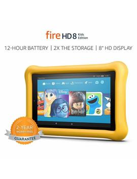 "Fire Hd 8 Kids Edition Tablet, 8"" Hd Display, 32 Gb, Yellow Kid Proof Case by Amazon"