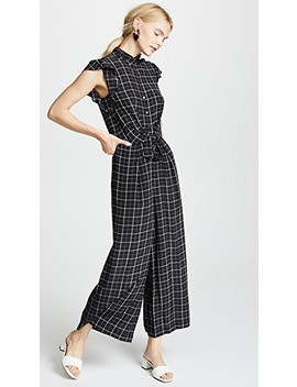 Plaid Jumpsuit by Rebecca Taylor