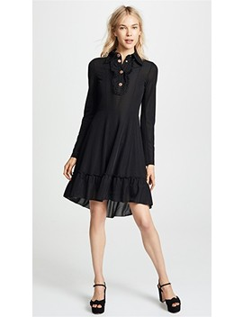 Collared Long Sleeve Dress by See By Chloe