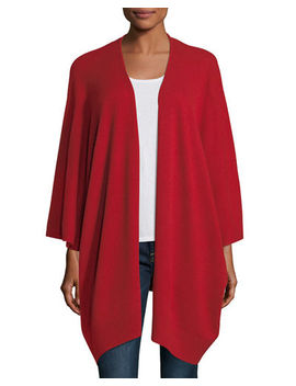 Cashmere Kimono Cardigan by Neiman Marcus Cashmere Collection