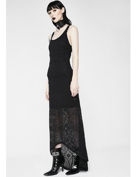 Chelsea Chill Maxi Dress by Killstar