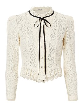 Dierdre Lace Blouse by Ronny Kobo