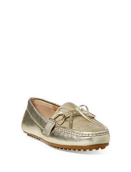 Leather Driving Loafers by Lauren Ralph Lauren