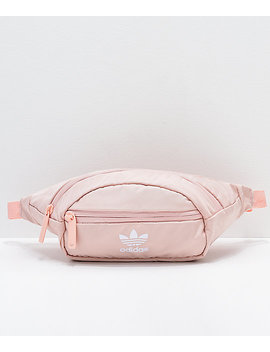 Adidas Originals Pink & White Waist Pack by Adidas