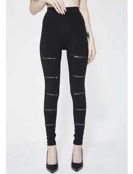 Nice For What Zip Leggings by Kiki Riki