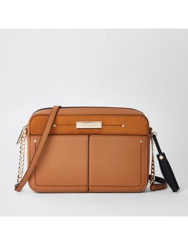 Beige Tassel Boxy Cross Body Bag by River Island
