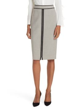 Voliviena Pencil Skirt by Boss