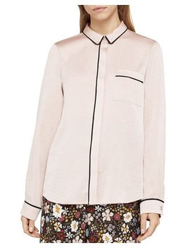 Button Front Pajama Blouse by Bcb Generation