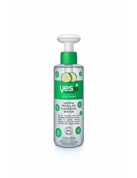 Yes To Cucumbers Calming Micellar Cleansing Water, 7.77 Fluid Ounce by Yes To