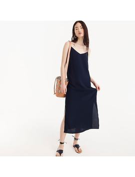 Petite Midi Slip Dress by J.Crew