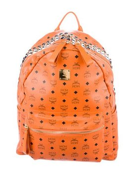 Mcm Stark Studded Large Backpack by Mcm