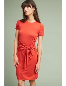 Ischia Petite Tie Waist Dress by Three Dots