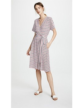 Rose Wrap Dress by Mds Stripes