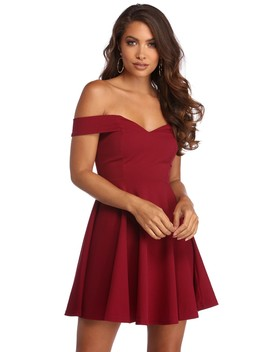 Talking Sweet Skater Dress by Windsor