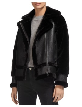 Mix Faux Shearling Jacket by Whistles
