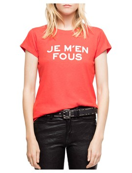 Skinny Bis Tee by Zadig & Voltaire